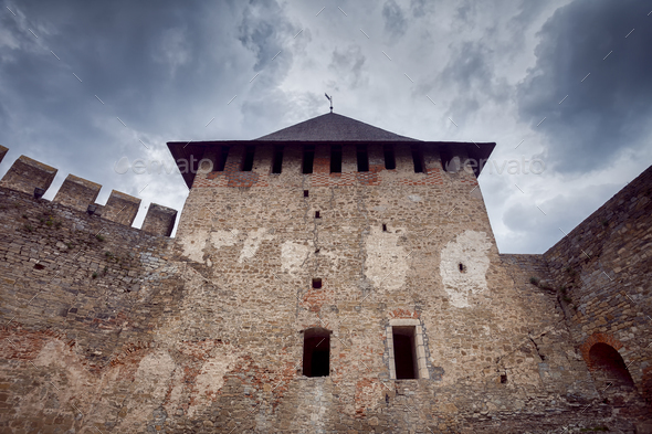 Old Khotyn Fortress - Stock Photo - Images