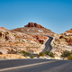 Picture of a scenic desert road, travel concept. - PhotoDune Item for Sale