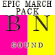Epic Action Military March Pack