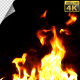 Realistic Fire Line in Super Slow Motion - Alpha Channel v.14 - VideoHive Item for Sale
