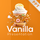 Vanilla Food and Culinary PowerPoint Template - GraphicRiver Item for Sale