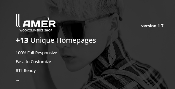 Lamer Fashion - WooCommerce WordPress Theme - WooCommerce eCommerce