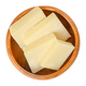 Parmesan cheese pieces in wooden bowl over white - PhotoDune Item for Sale