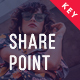 Share Point Premium Design Keynote Template