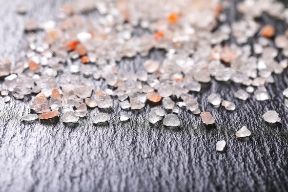 Pink Himalayan Salt - Stock Photo - Images