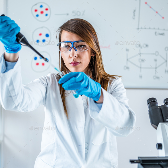 Life science research - Stock Photo - Images