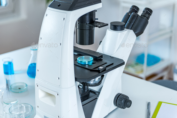 Microscope - Stock Photo - Images