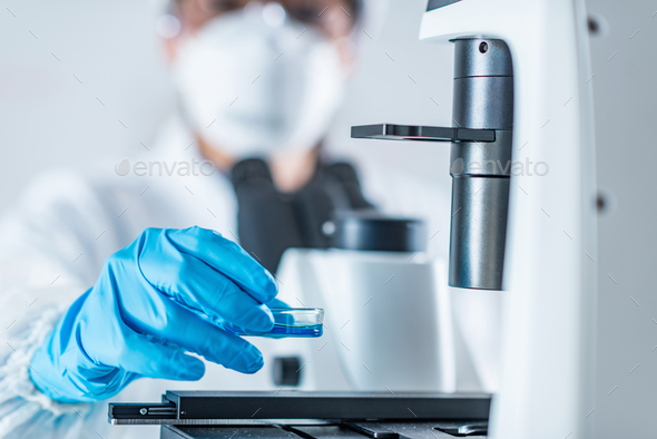 Biotech lab research - Stock Photo - Images