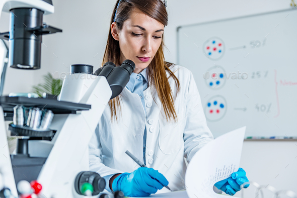 Life sciences - Stock Photo - Images