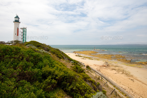 Queenscliff Beach - Stock Photo - Images