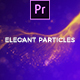 Elegant Particles Titles Mogrt - VideoHive Item for Sale
