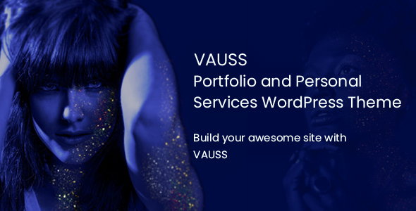 Image of VAUSS - Portfolio and Personal Services WordPress Theme