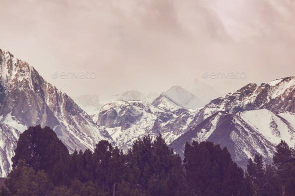 Sierra Nevada - Stock Photo - Images