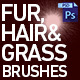 Fur, Hair and Grass Brushes
