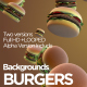 Burgers Background - VideoHive Item for Sale