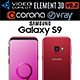 Samsung Galaxy S9 Burgundy Red - 3DOcean Item for Sale