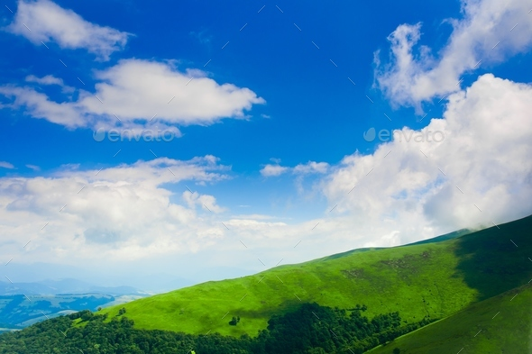 spring hill - Stock Photo - Images