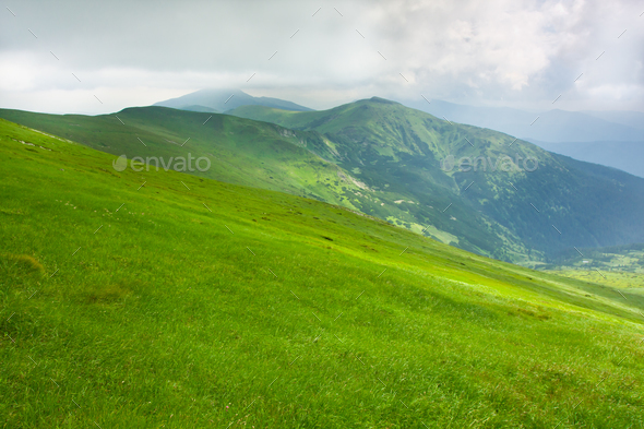 Beautiful mountains landscape - Stock Photo - Images
