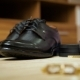 Bride's Shoes and Gold Cufflinks - VideoHive Item for Sale