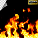 Realistic Fire Line in Super Slow Motion - Alpha Channel v.16 - VideoHive Item for Sale