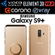 Samsung Galaxy S9 PLUS Sunrise Gold - 3DOcean Item for Sale