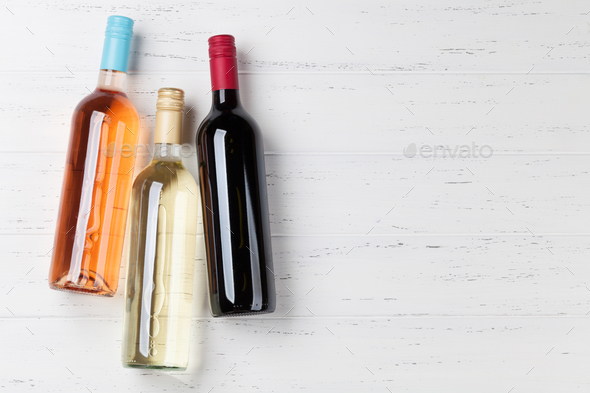 Wine bottles - Stock Photo - Images
