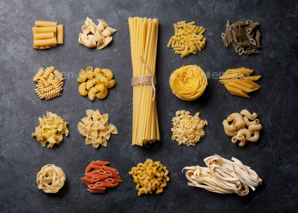 Various pasta - Stock Photo - Images