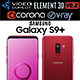 Samsung Galaxy S9 PLUS Burgundy Red - 3DOcean Item for Sale