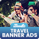 Travel Banners Ads - GraphicRiver Item for Sale