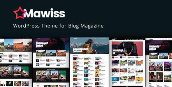 Image of Mawiss - WordPress Blog Magazine Theme