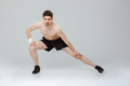 Full length portrait of a confident young half naked sportsman - PhotoDune Item for Sale