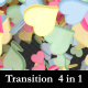 3D Heart Explosion Transition - VideoHive Item for Sale