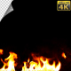 Realistic Fire Line in Super Slow Motion - Alpha Channel v.17 - VideoHive Item for Sale