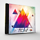 Triangle Colors CD/DVD Photoshop Template