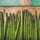 Raw uncooked green asparagus - PhotoDune Item for Sale