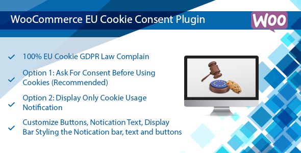 WooCommerce EU Cookie Consent Plugin, Wordpress GDPR Compliance            Nulled