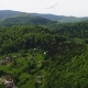 Aerial View of Carpathian Mountains in Summer - VideoHive Item for Sale