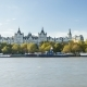 of Whitehall Court (The Royal Horseguards Hotel) As Seen From South Bank. London, UK. November - VideoHive Item for Sale