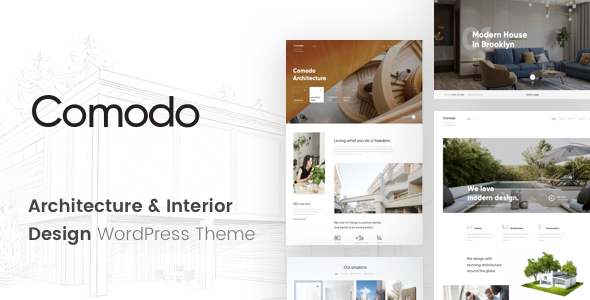 Comodo – Architecture And Interior Design WordPress Theme