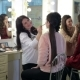 Two Make-up Artists Doing Make-up for Young Girls - VideoHive Item for Sale