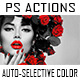 Auto-Selective Color - 12 Photoshop Actions