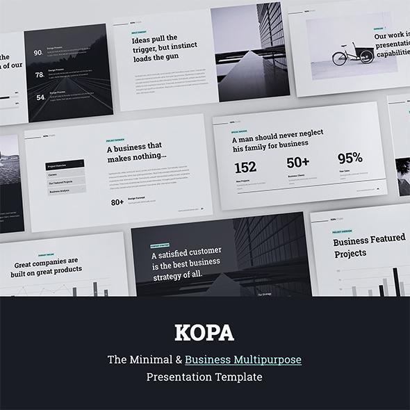 Kopa Business & Multipurpose Template (Powerpoint) - Business PowerPoint Templates