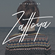 Zattoya Signature Typeface - GraphicRiver Item for Sale