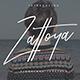 Zattoya Signature Typeface - GraphicRiver Item for Sale