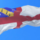 Flag of Herm Waving - VideoHive Item for Sale