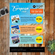 Travel Flyer Banner - GraphicRiver Item for Sale