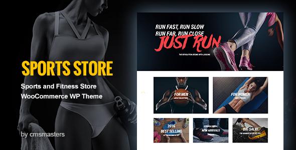 Sports Store - WooCommerce eCommerce