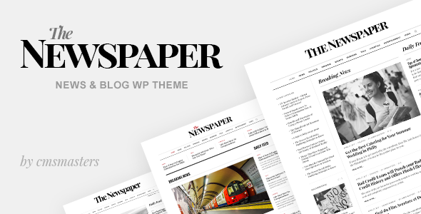 The Newspaper - News Magazine Editorial WordPress Theme - News / Editorial Blog / Magazine