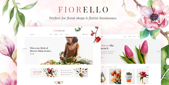 Fiorello - A Flower Shop and Florist WooCommerce Theme - WooCommerce eCommerce
