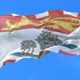 Flag of Canadian Region of Prince Edward Island - VideoHive Item for Sale